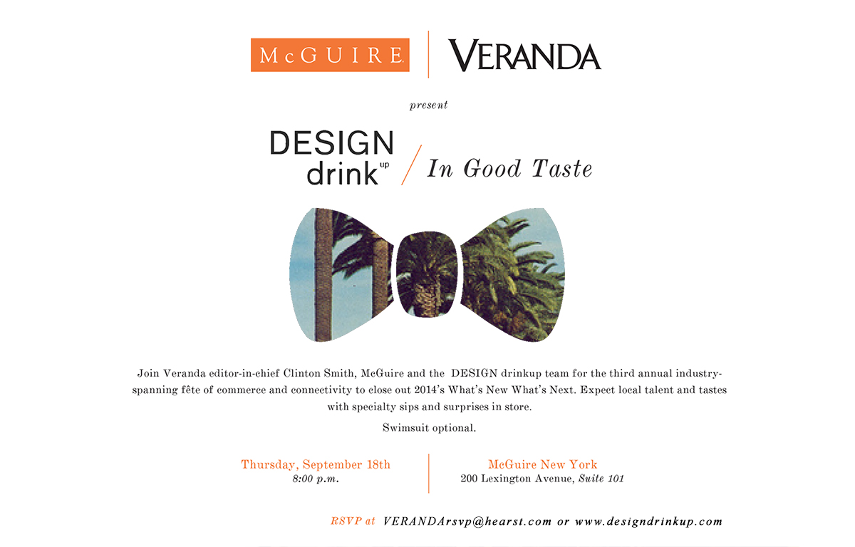 DESIGN drinkup In Good Taste Invitation